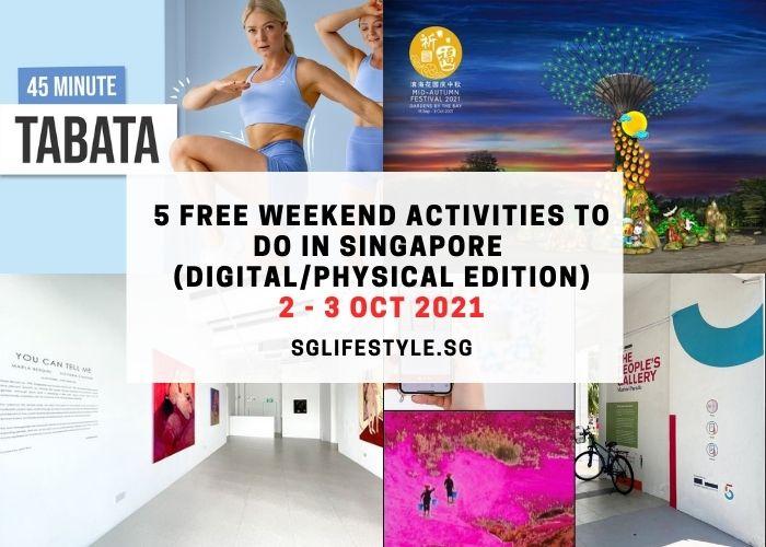 weekend activities 2 - 3 oct