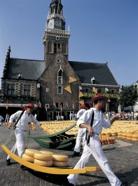 Cheese Market in Alkmaar