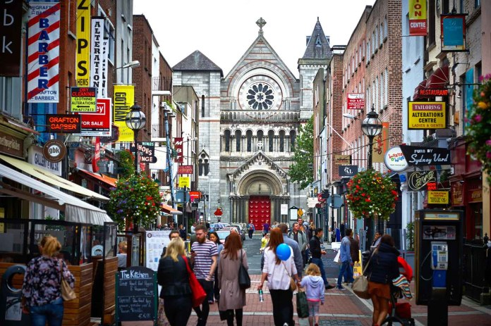 Shopping in Dublin
