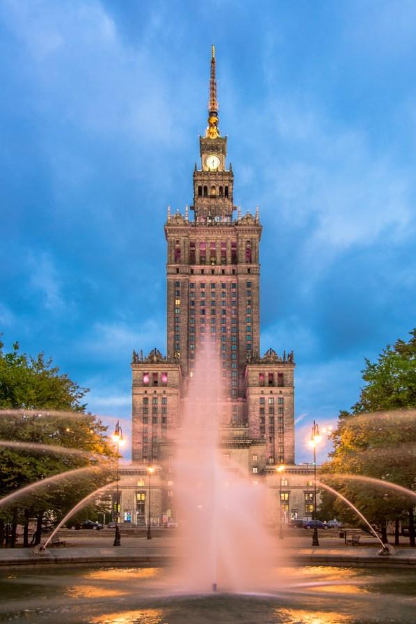 Pa³ac Kultury i Nauki. // Palace of Culture and Science.