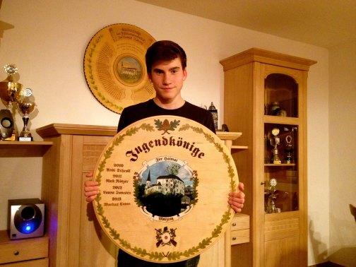 Gratulation an Flo! Unser Jugendschützenkönig