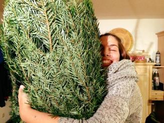 Ramona und ihr Christbaum!