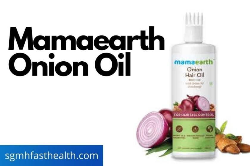 mamaearth hair oil
