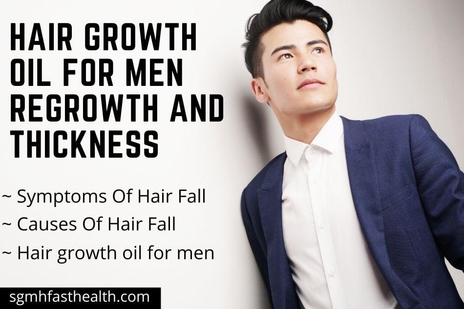 Hair growth oil for men