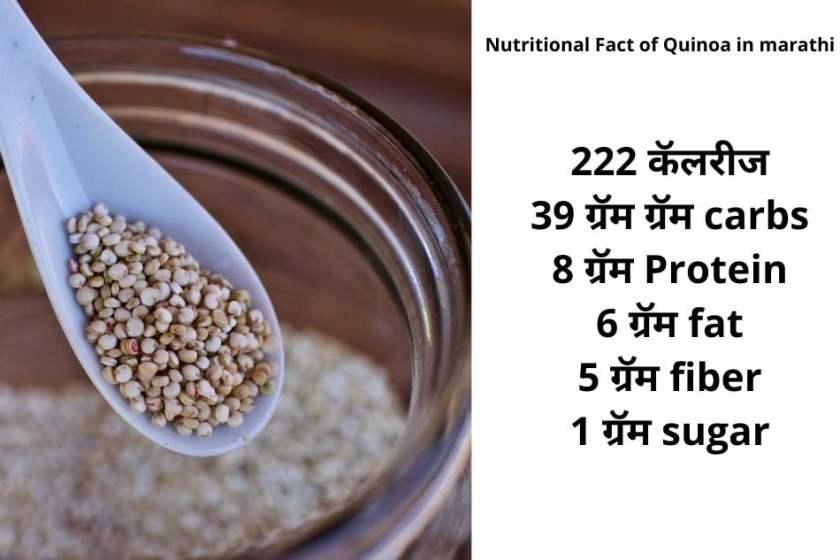 Quinoa in marathi