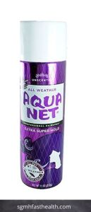 Aqua Net Extra Super Hold Unscented Professional Hairspray