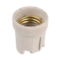 Screw E27 Ceramic Porcelain Socket Bulb Holder for Heat