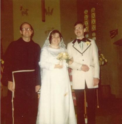 Brother Ron, Susan, Dennis June 1 1974