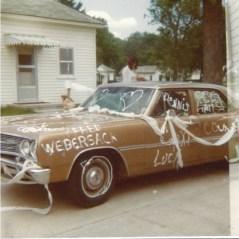 car decorated