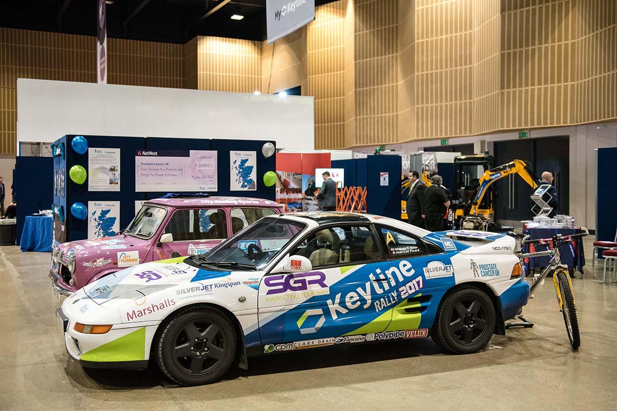 Rally Car Trade Show