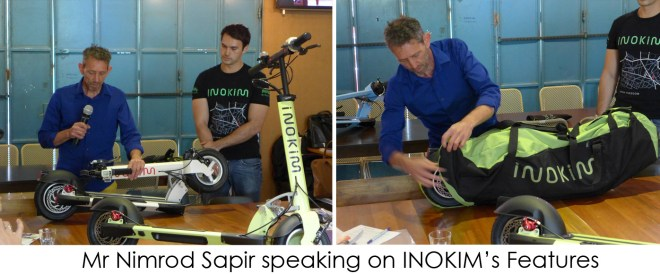 Speaking on INOKIM