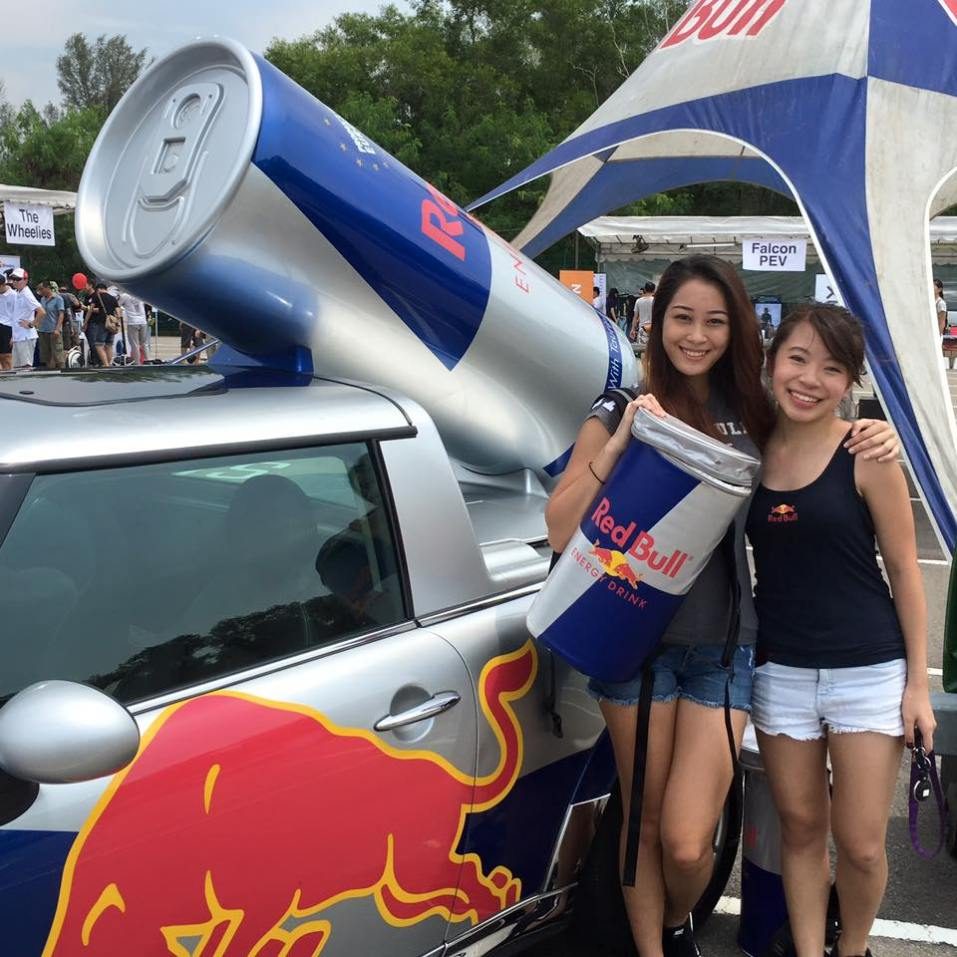 Wingz Girls from Red Bull Singapore