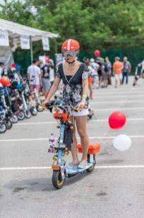 Electric Scooter all dressed up