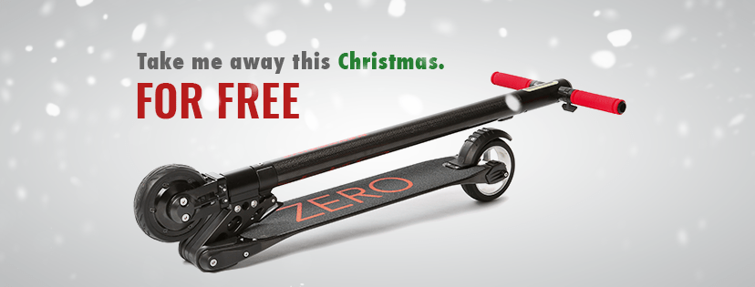 2016 Christmas ZERO 2.0 Giveaway