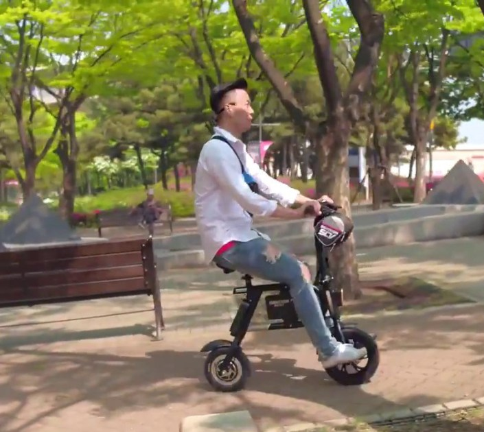 Inmotion riding posture