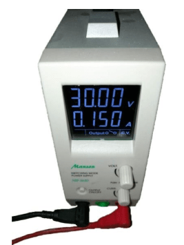 DC Power Supply settings