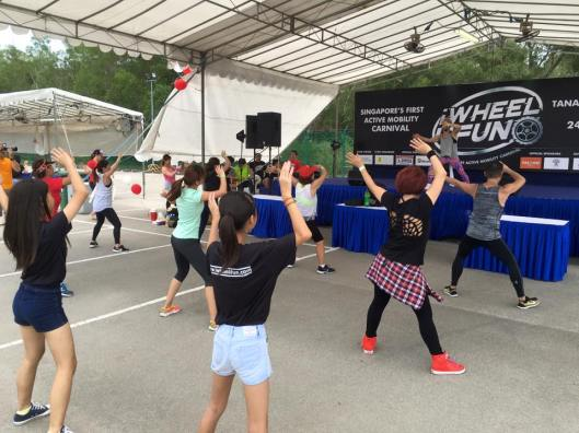 Zumba sessions for the public