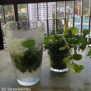 Recipe for mint mojito