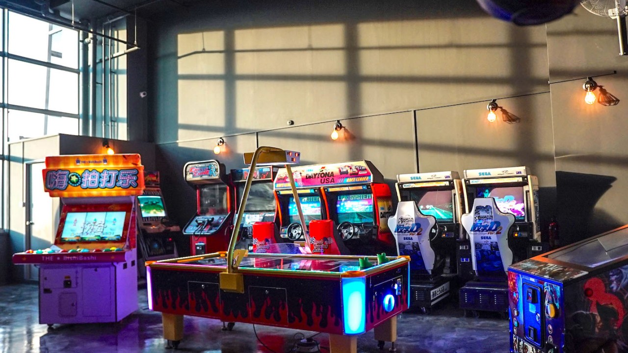 Singapore Arcade Machines Rental