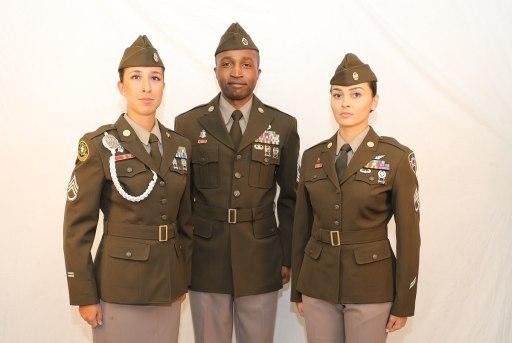New Army Pink Amp Green Uniform Sgtsdesk