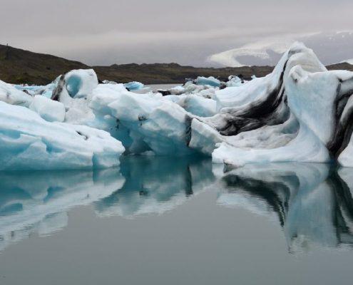 Islanda: riflessi nella Jokulsarlon