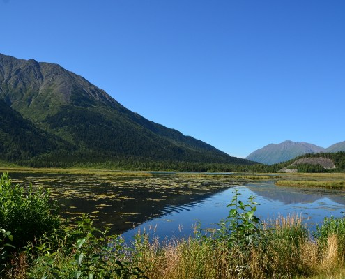 Alaska: Kenai penisola panorama