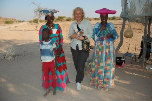 Namibia: Francy con Herero