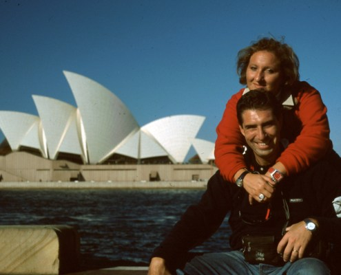 Australia: Francy e Ricky davanti all'Opera House