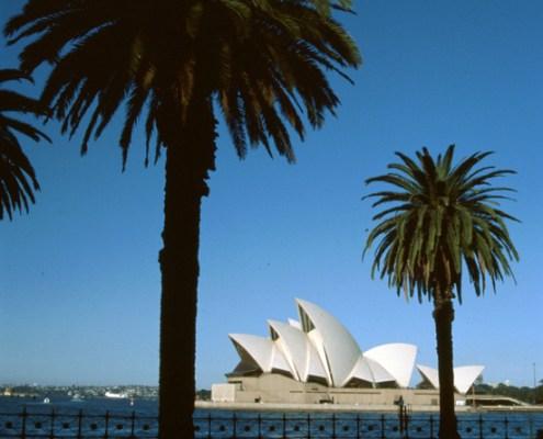 Australia: Sidney Opera House.