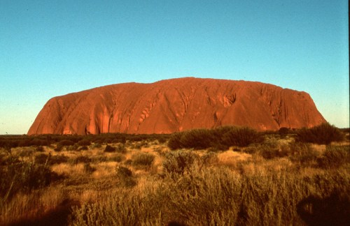 Australia: Ayers Rock.