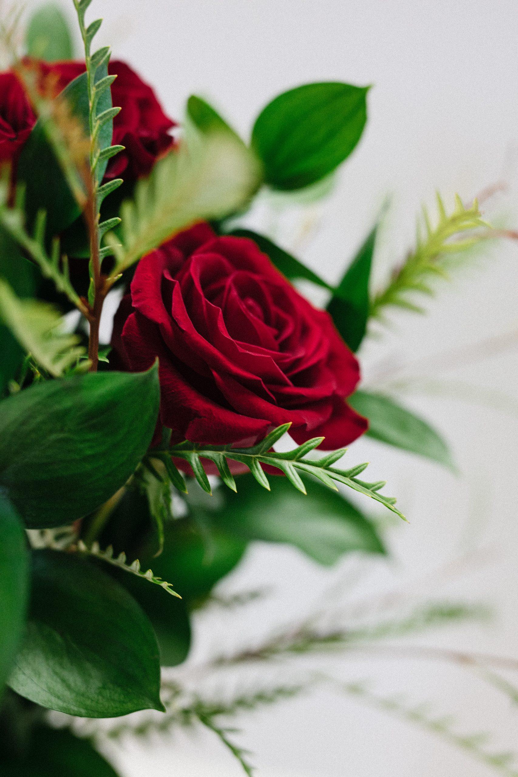 Bouquet de Roses rouges | Fleuriste Signé Guillet | Livraison