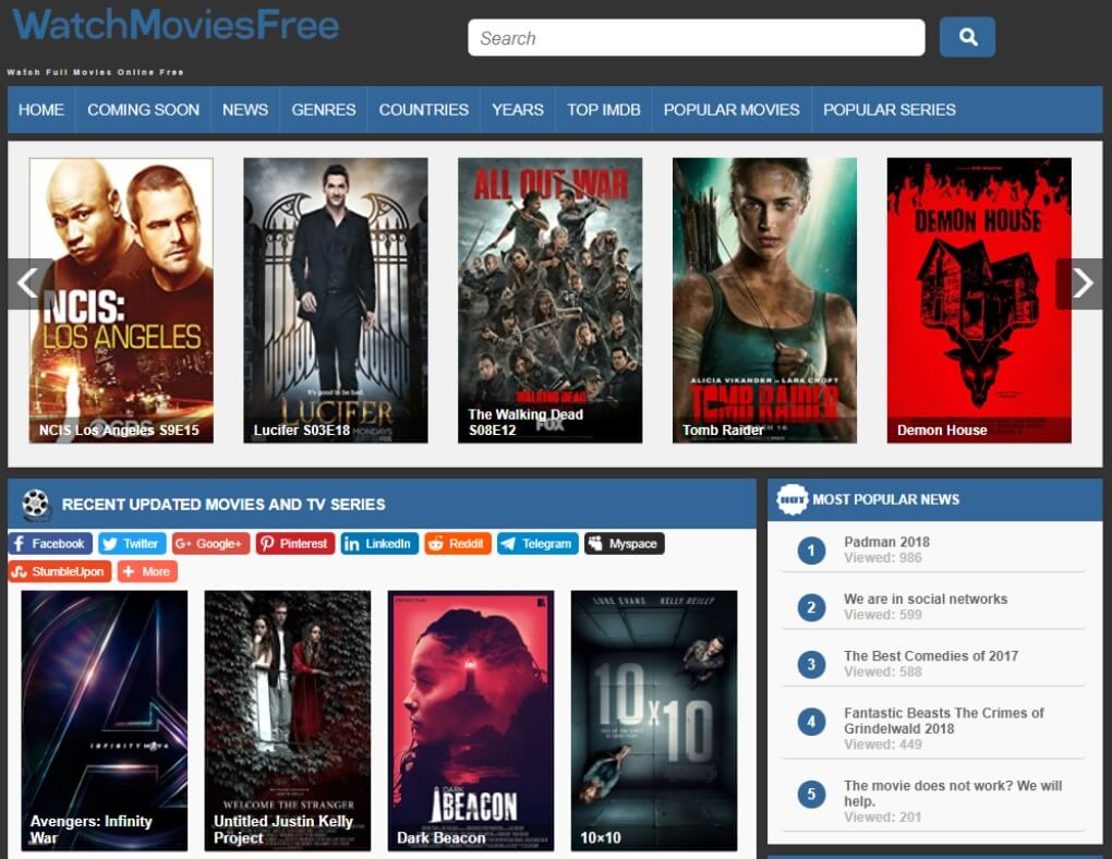 20 Best Sites To Download Latest Movies for FREE (in Full HD) [2017]
