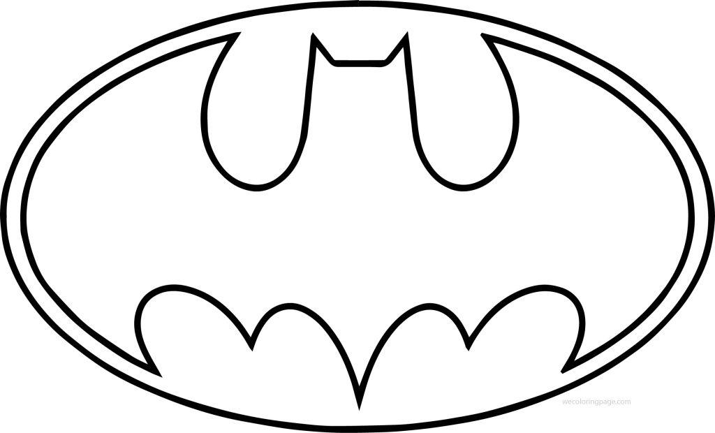 Outline-Batman-Logo-Coloring-Page - Supportive Guru