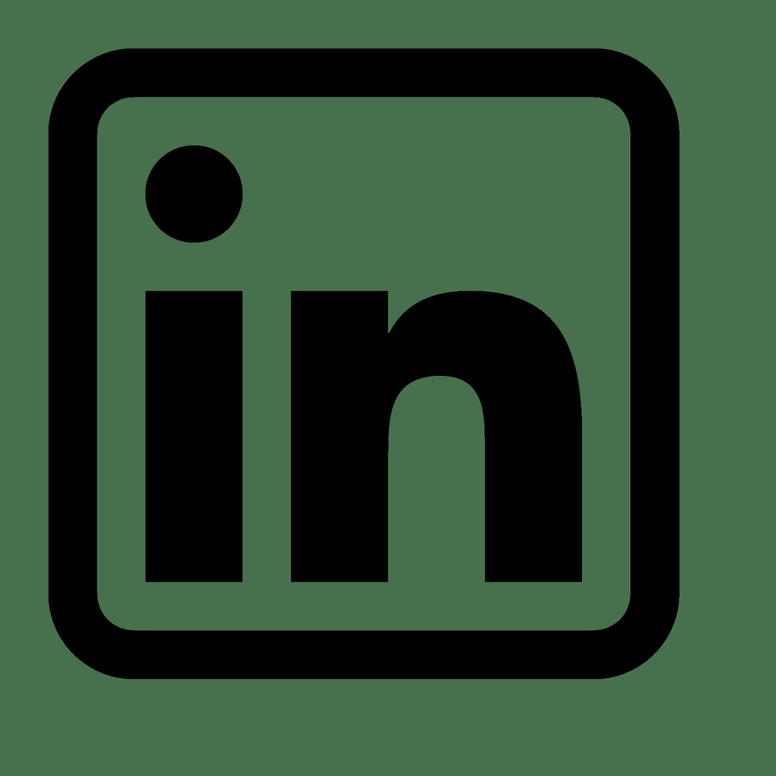 100 LinkedIn LOGO  Latest LinkedIn Logo Icon GIF Transparent PNG