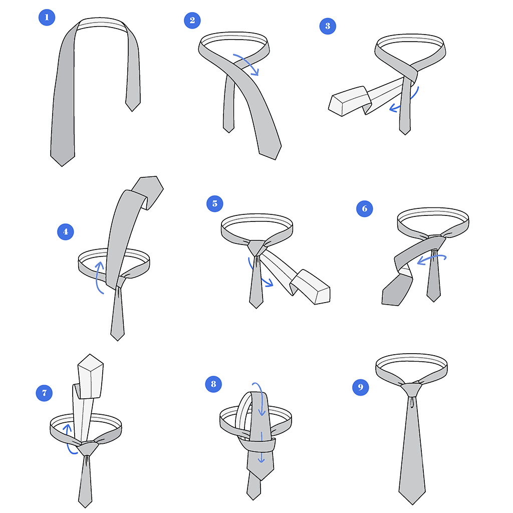 How to Tie a Tie :: Step