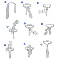 How to Tie a Tie :: Step-by-Step Guide (with Pics) for 50 ...