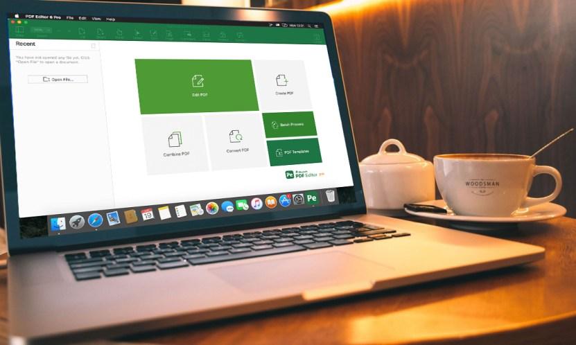 iSkysoft PDF Editor 6 Pro on Macbook Pro