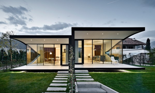 Peter Pichler Architecture Mirror Houses Sgustok Design