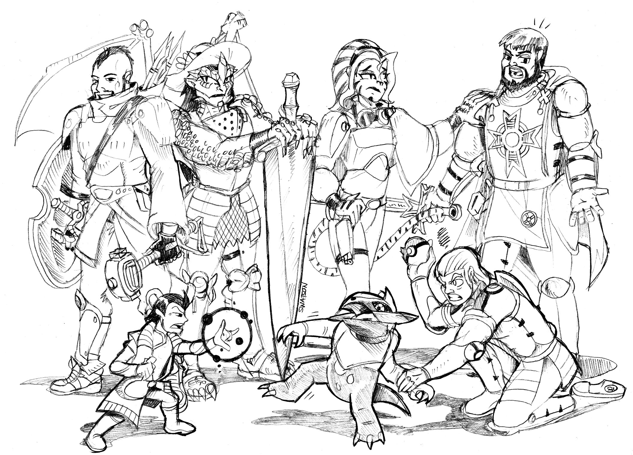 D&D Artwork