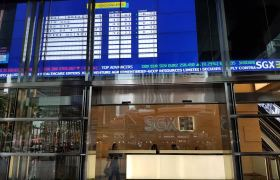 SGX share price