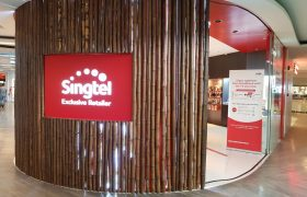 Singtel share price