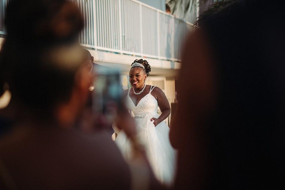 beach wedding in delaware