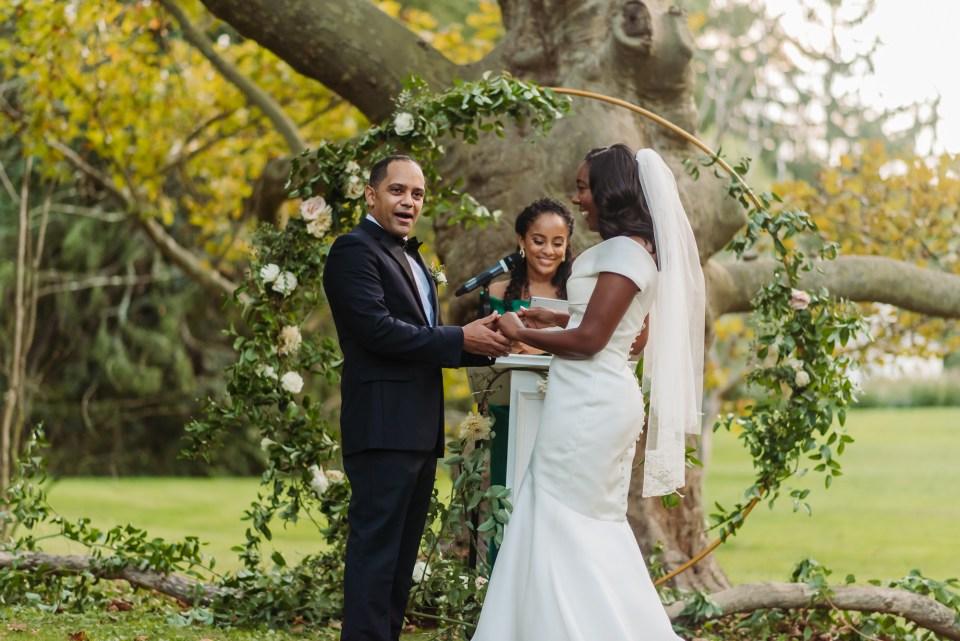 autumn wedding in philly