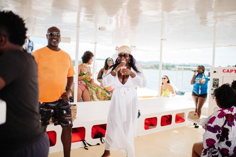 picture in jamaica wedding