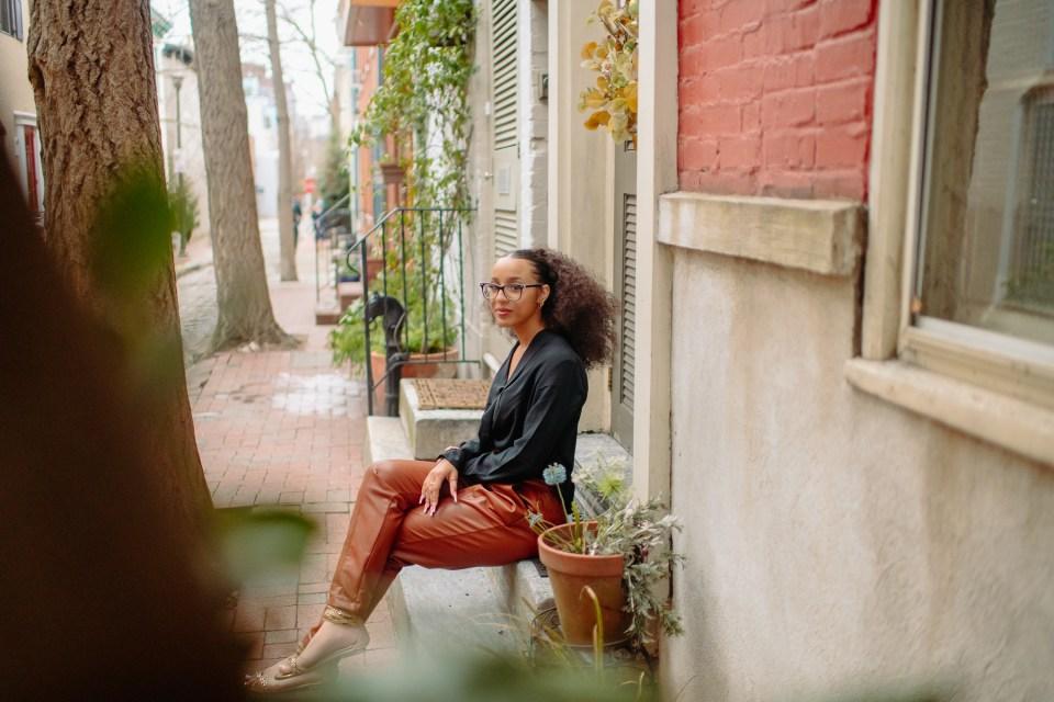 senior girl in philadelphia