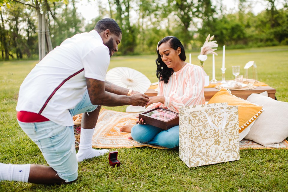 south jersey engagement photographer