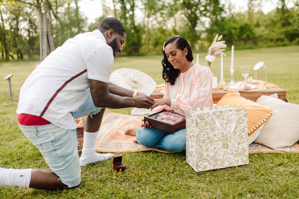 picnic proposal in south jersey