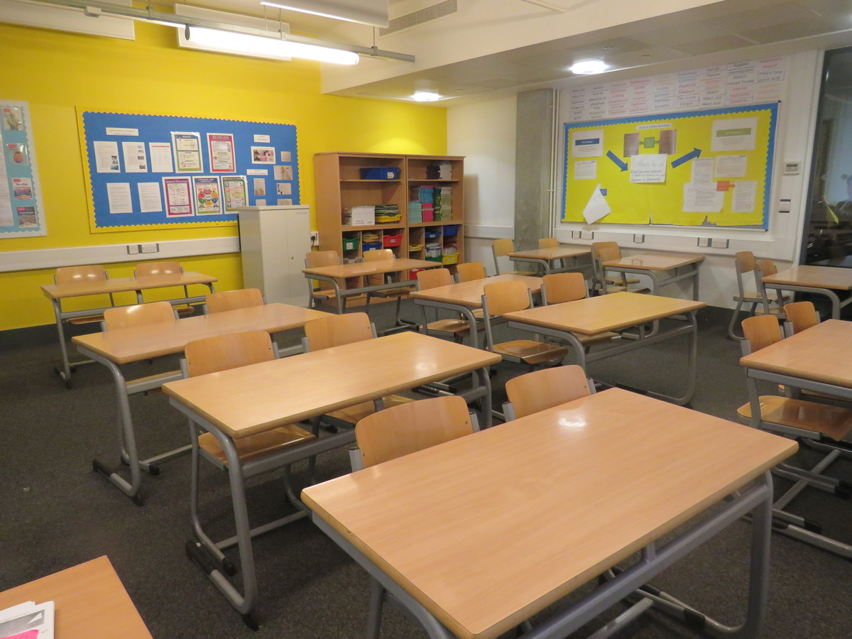 Classrooms At Heartlands High School For Hire In London