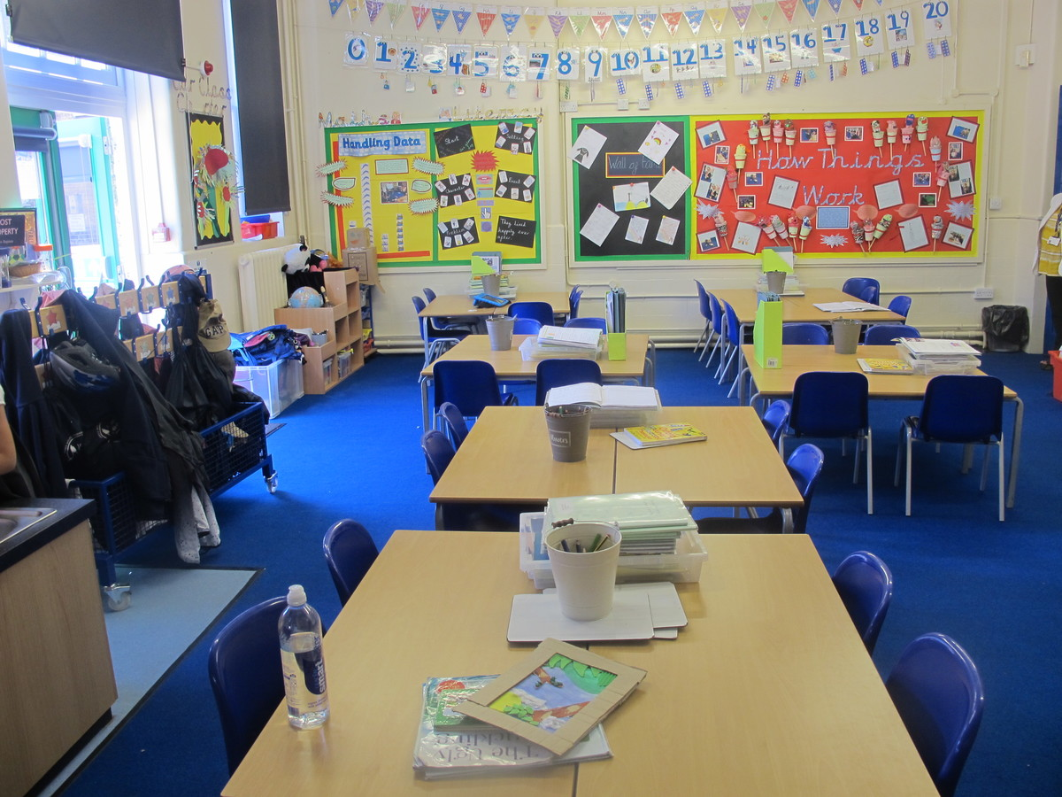 Classrooms At James Wolfe Primary School With Centre For