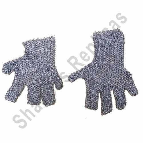 Medieval Chain Mail Hand Gloves